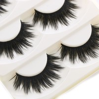 Thick False Eyelashes - 5 Pairs