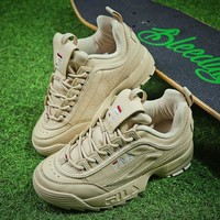 FILA Disruptor II 2 All Beige Shoes FW0165-038 - Best Online Sale