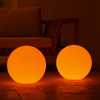 All-Weather Cordless Outdoor Lights - Ball