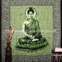 Lord Buddha Tapestry Tablecloth, Queen Wall Hanging, Dorm Bedspread Decor Art, Indian Tapestry, Hippie Wall Hanging, Bohemian Tapestry