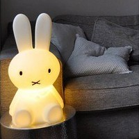 MIFFY Miffy Lamp Small is 50 cm high