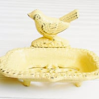 Cast Iron Bird Soap Dish - Choose Your Color - Colorful Cast and Crew