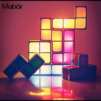 Tetris DIY Color Changing Night Light