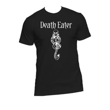 Death Eater Mark Ladies or Mens T Shirt, Harry Potter,Muggle Humor,Nerd Girl Tees, Geek