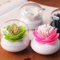 Lotus Cotton Bud Holder