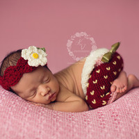 Newborn Baby Girls Boys Crochet Knit Costume Photo Photography Prop = 4457531396