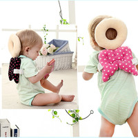 Baby Cute Wings Drop Resistance Head Protection O-shaped travel Pillow &Play Entertainment Sport Move Cushion Pillow Baby Toys