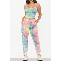 Chill Out Set Tie Dye Pink