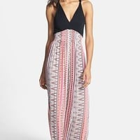 FELICITY & COCO Printed Maxi Dress