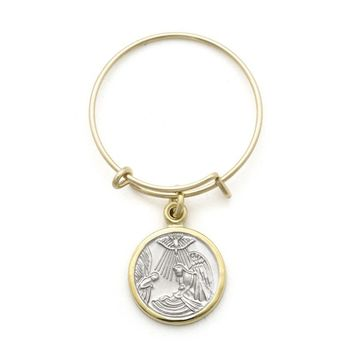 Alex and Ani Presence of Angels Expandable Wire Ring - 14kt Gold Filled