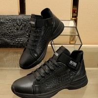 BOSS  Man Fashion Casual Shoes Men Fashion Boots fashionable Casual leather Breathable Sneakers Running Shoes Sneakers