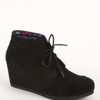Qupid Olee Wedge Booties at PacSun.com
