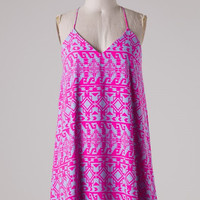 Brynlee Dress - Fuchsia