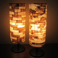 Unique Lighting COFFEE FILTER Ecofriendly Table Lamp by Lampada