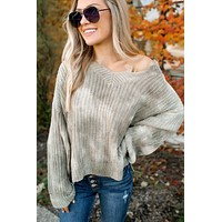 Widen Your Wardrobe Sweater (Olive)