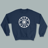 Meyerism - Eye Logo - White Print - Unisex Sweater