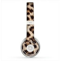 The Leopard Furry Animal Hide Skin for the Beats by Dre Solo 2 Headphones