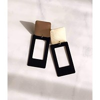 Pearl and Ivy Studio - portrait earrings - night