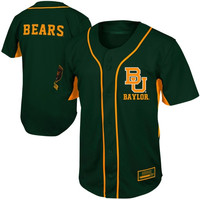 Baylor Bears Fielder Baseball Jersey - Green