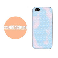 White Hearts and Tye Die iPhone 4/4s 5/5s/5c/6/6 plus iPod 4/5 & Galaxy S5 Case