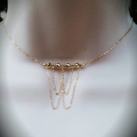 Stassi's Single or Double Draped Chains