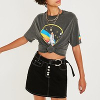 NASA Washed Black T-Shirt | Urban Outfitters