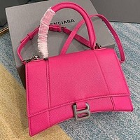 Balenciaga High Quality Women Fashion Leather Crossbody Satchel