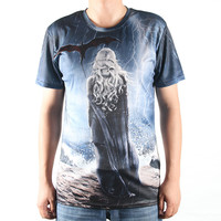 Fashion New T Shirts Game Of Thrones 3D Tshirts Men O Neck Top Tees Casual Man Clothing Winter Is Coming Design T-shirts Print
