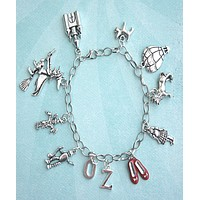 The Wizard of Oz Inspired Charm Bracelet