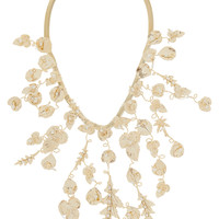 Rosantica - Maria gold-dipped freshwater pearl necklace