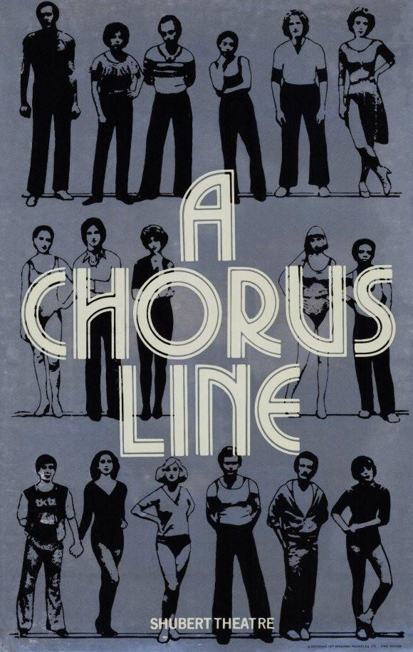 Image of A Chorus Line 11x17 Broadway Show Poster (1975)