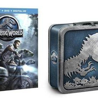 Jurassic World Limited Edition Collectible Giftset [Blu-ray + DVD + Digital HD] with Collectible Metal Lunchbox