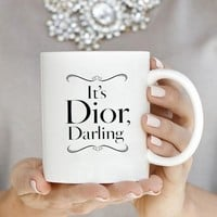 Fashion D Inspired Coffee Mug