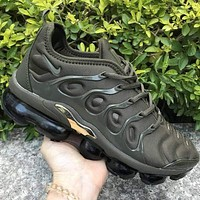Nike Air VaporMax Plus Trending Women Men Air Cushion Sport Running Shoes Sneakers Green