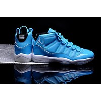 Air Jordan 11 Retro Aj11 North Carolina Blue Men Basketball Shoes Us 8 13