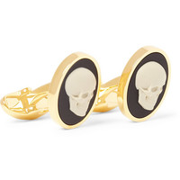 Paul Smith Shoes & AccessoriesSkull Cameo Cufflinks|MR PORTER