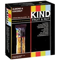 Kind Fruit and Nut Bars Almond and Coconut, 1.4 oz, 12 Count - Walmart.com