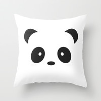 panda Throw Pillow by Steffi ~ findsFUNDSTUECKE