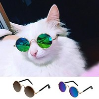 Fashion Cat Sunglasses Pet Accessories Summer Dogs Cats Glasses Grooming Black G