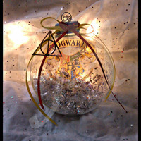 Limited Edition Harry Potter Jumbo Glass Ornament