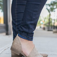 Free Reign Booties - Taupe