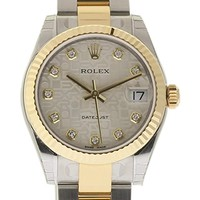 Rolex Datejust Swiss-Automatic Female Watch 178273 (Certified Pre-Owned)