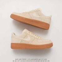 NIKE AIR FORCE 1'07 LV8 SUEDE AA1117-200