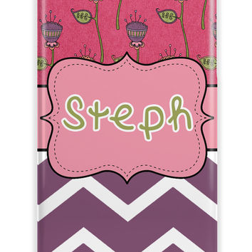 RETRO FLORAL AND CHEVRON - IPHONE CASE FOR TWEENS