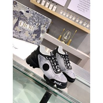DIOR  Fashion Men Women's Casual Running Sport Shoes Sneakers Slipper Sandals High Heels Shoes12