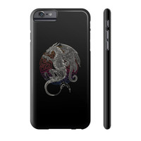 Celtic Dragon On Dark Phone Case