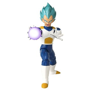 Dragon Ball Super™ Attack Action Super Saiyan Blue Vegeta - 7""