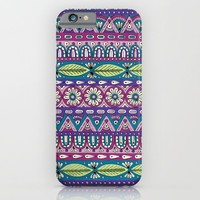 Detailed Stripes iPhone & iPod Case by Sarah Oelerich