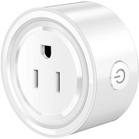 Mini Smart WiFi Outlets with Remote Control and Timer Function work with Alexa and Google Home