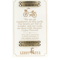 "Lenny and Eva ""Gypsy Soul"" Sentiment Bar Set"